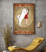 Husky Girl And She Lived Happily Ever After Poster