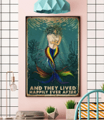 Lgbt Mermaid And They Lived Happily Ever After Poster