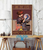 Pottery And She Lived Happily Ever After Poster