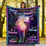 To my granddaughter magical unicorn horse beautiful strong darling love birthday gift