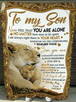 To my son baby little boy lion jungle bravery bold valiant fearless love mom birthday gift