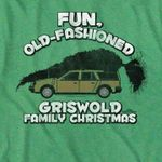 Fun old fashioned griswold family chirstmas xmas gift birthday gift t shirt