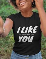 I like my husband more than you family wife woman birthday gift t shirt