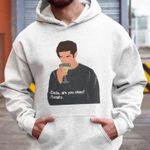 Dude are you okey totally cocktail lover drinker friendship birthday gift hoodie