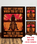 You Don'T Stop Riding When You Get Old Poster