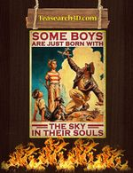 Poster some boys are just born with the sky in their souls