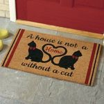 A House Is Not A Home Without A Cat Doormat