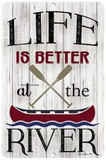 Life is Better at The River Row Boat poster