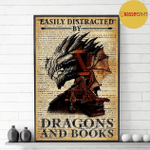 Easily distracted by dragons and books Dragon Head poster
