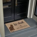 The Cat And Her Family Doormat