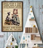 Once upon a time books and dogs poste