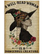 A Well Read Woman Is A Dangerous Creature Witch Poster