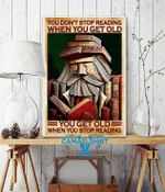 You Don'T Stop Reading When You Get Old Poster
