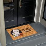 Could Be Gone Fishing American Eskimo Dog Doormat