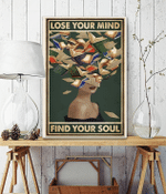 lose your mind find your soul Book Head Girl poster