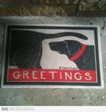 Butt Smelling Dog Doormat