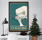 It's in my DNA sewing poster