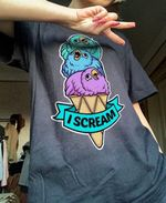 Bird i scream tshirt