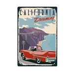 California Dreaming Road Trip Poster