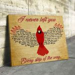 Cardinal I Never Left You Poster Canvas