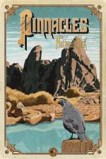 Pinnacles National Park Road Trip Poster