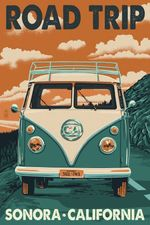Death Valley National Park Road Trip Poster