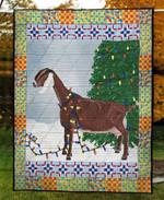 Blinker Goat Quilt Blanket
