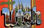 Greetings From Utah Road Trip Poster