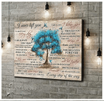 Tree I Never Left You Poster Canvas