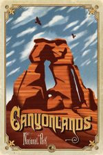 Canyonlands National Park Road Trip Poster