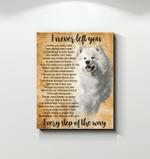Husky I Never Left You Poster Canvas