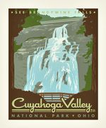 Poster Panel In Cuyahoga Valley Road Trip