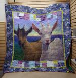 Goat - Till The Goat Quilt Blanket