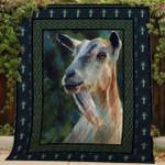 Goat Quilt Blanket