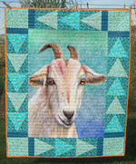 Goat Wait You Quilt Blanket