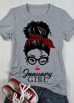January girl sexy lady for lovers shirt