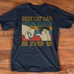 Best cat dad ever tshirt