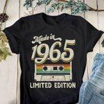 Made in 1965 limited edition retro cassette shirt