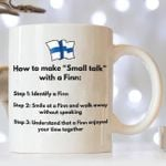 How to make small talk with a finn mug