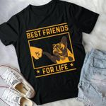 Best friends for life french bulldog shirt
