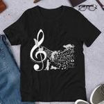 Cats love music tshirt