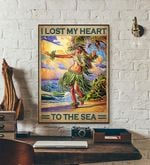I Lost My Heart To The Sea travel poster