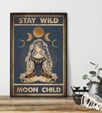Stay Wild Moon Child Yoga poster