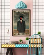 The Son Of Man Vinyl Lose Your Mind Poster No Frame