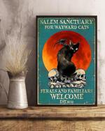 Salem Sanctuary For Wayward Cats Vertical Poster Canvas