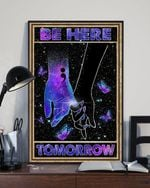Together Butterfly Hands Be Here Tomorrow Poster No Frame