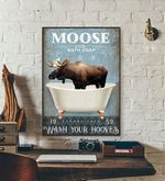 Moose & Co Bath Soap Wash Your Hooves poster