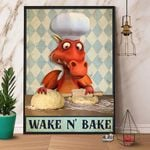 Dragon Chef Wake N' Bake Poster