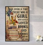 Girl Love Books and Fairies poster