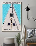 Once upon a time there was a girl who really loved Cruising Poster Canvas